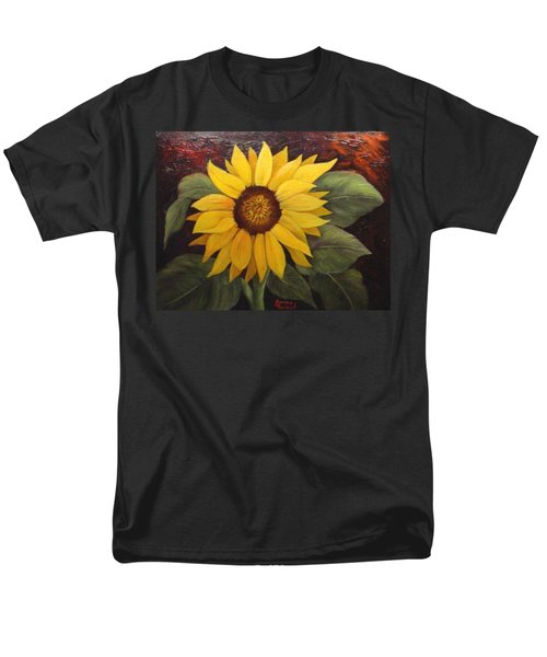 Men's T-Shirt  (Regular Fit) featuring the painting Pure Sunshine  Sold by Susan Dehlinger