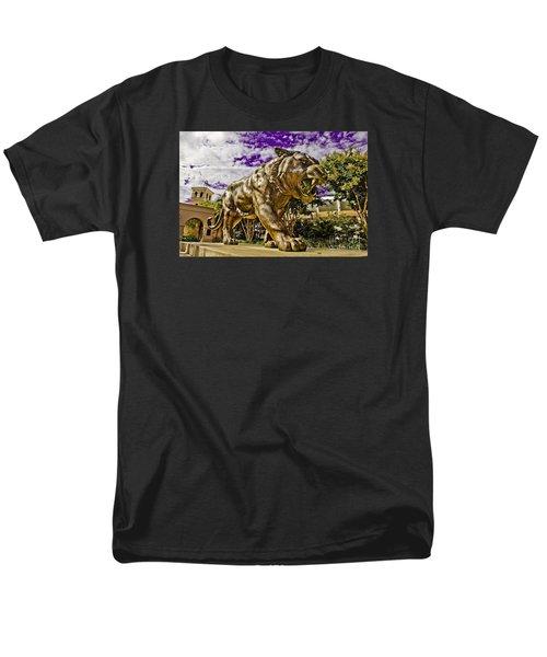 Purple And Gold Men's T-Shirt  (Regular Fit) by Scott Pellegrin