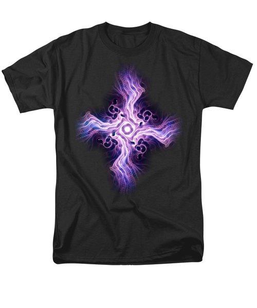 Purple Cross Men's T-Shirt  (Regular Fit) by Anastasiya Malakhova