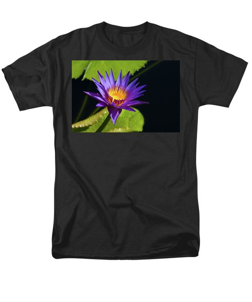 Men's T-Shirt  (Regular Fit) featuring the photograph Purple Gold by Steve Stuller