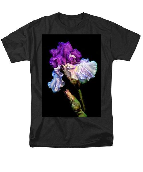 Purple Iris Men's T-Shirt  (Regular Fit) by Dave Mills