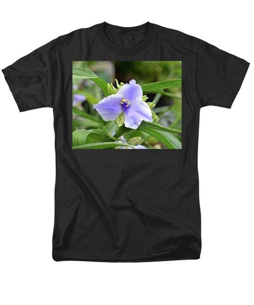 Spiderwort Men's T-Shirt  (Regular Fit) by Ronda Ryan