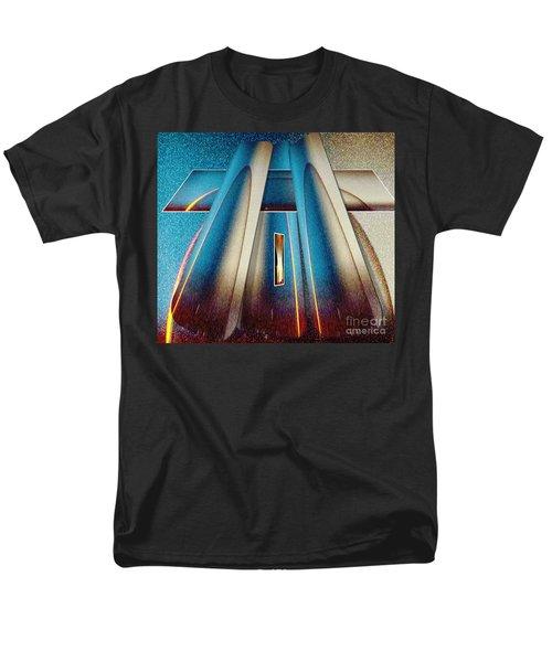 Pyramid Men's T-Shirt  (Regular Fit) by Belinda Threeths