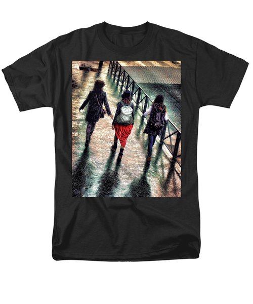 Men's T-Shirt  (Regular Fit) featuring the photograph Quai Des Tuileries by Jim Hill