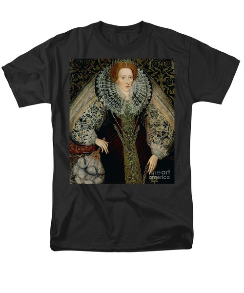 Queen Elizabeth I Men's T-Shirt  (Regular Fit) by John the Younger Bettes