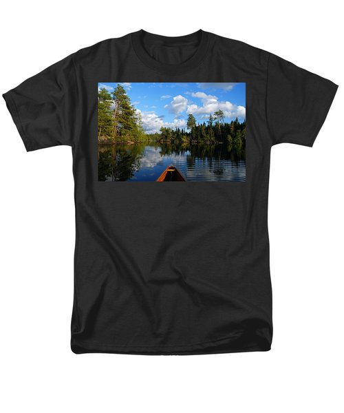 Quiet Paddle Men's T-Shirt  (Regular Fit) by Larry Ricker
