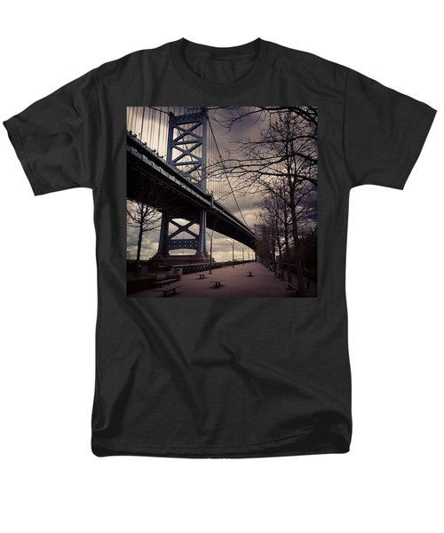 Race Street Pier Men's T-Shirt  (Regular Fit) by Katie Cupcakes