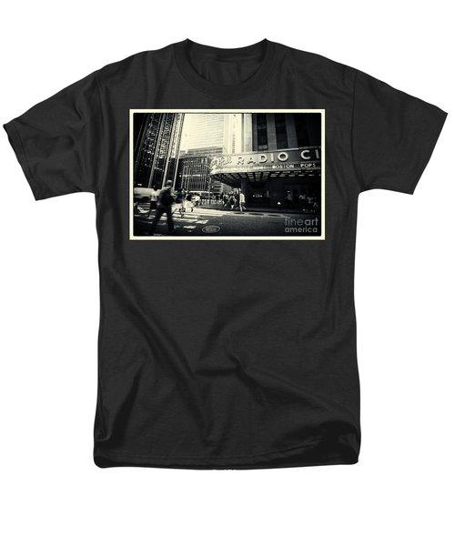 Radio City Music Hall Manhattan New York City Men's T-Shirt  (Regular Fit) by Sabine Jacobs