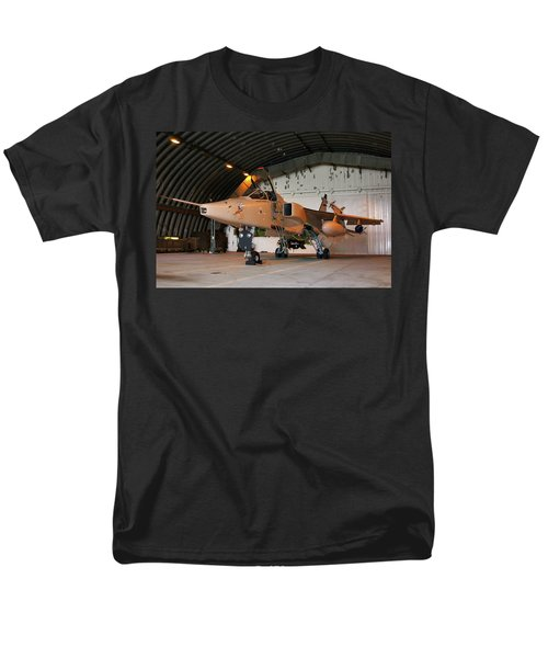 Raf Sepecat Jaguar Gr3a Men's T-Shirt  (Regular Fit) by Tim Beach