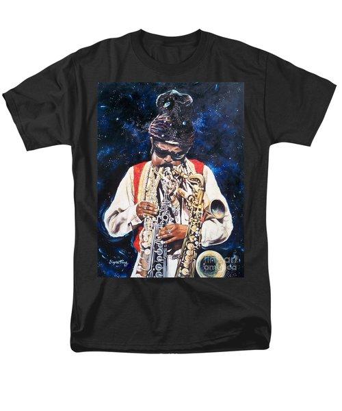 Rahsaan Roland Kirk- Jazz Men's T-Shirt  (Regular Fit) by Sigrid Tune