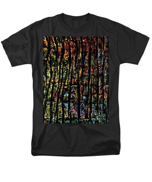 Rain Forest  Men's T-Shirt  (Regular Fit) by Amar Sheow