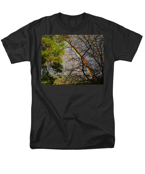 Men's T-Shirt  (Regular Fit) featuring the photograph Rainbow Tree by Ben Upham III