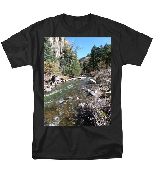 Rapid Stream Men's T-Shirt  (Regular Fit)