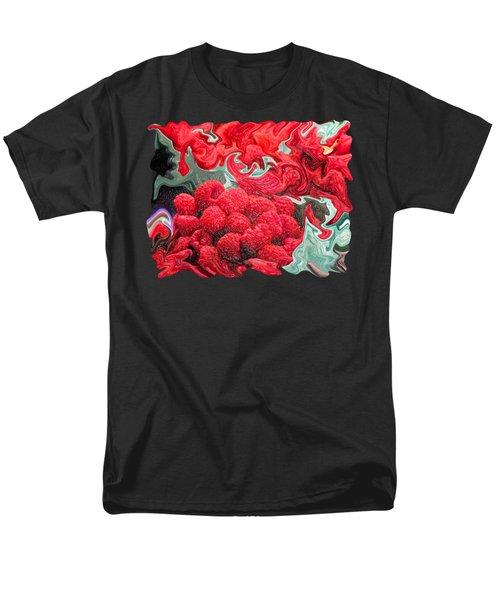 Raspberries Men's T-Shirt  (Regular Fit) by Kathy Moll