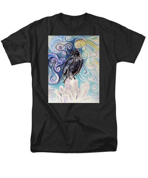 Raven Magic Men's T-Shirt  (Regular Fit)