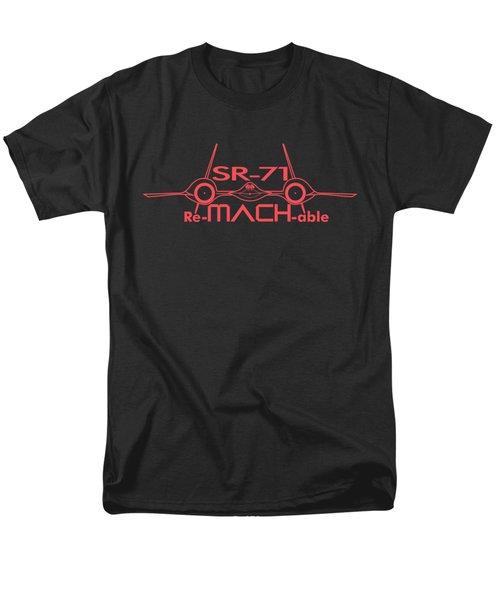 Re-mach-able Sr-71 Men's T-Shirt  (Regular Fit)