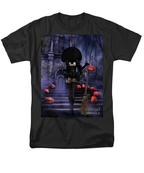 Ready Boys Halloween Witch Men's T-Shirt  (Regular Fit) by Shanina Conway