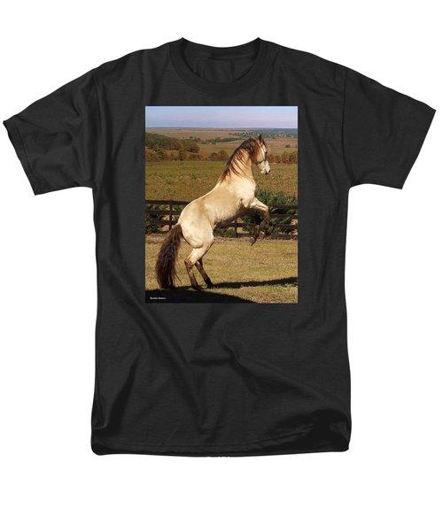 Men's T-Shirt  (Regular Fit) featuring the photograph Wild At Heart by Barbie Batson