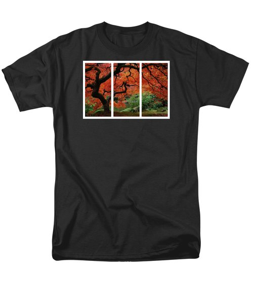 Red Tree Men's T-Shirt  (Regular Fit) by James Roemmling