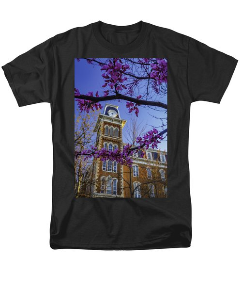 Redbud At Old Main Men's T-Shirt  (Regular Fit) by Damon Shaw