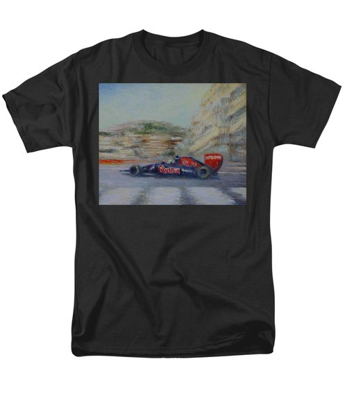 Redbull Racing Car Monaco  Men's T-Shirt  (Regular Fit) by Pierre Van Dijk