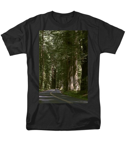 Redwood Highway Men's T-Shirt  (Regular Fit) by Wes and Dotty Weber