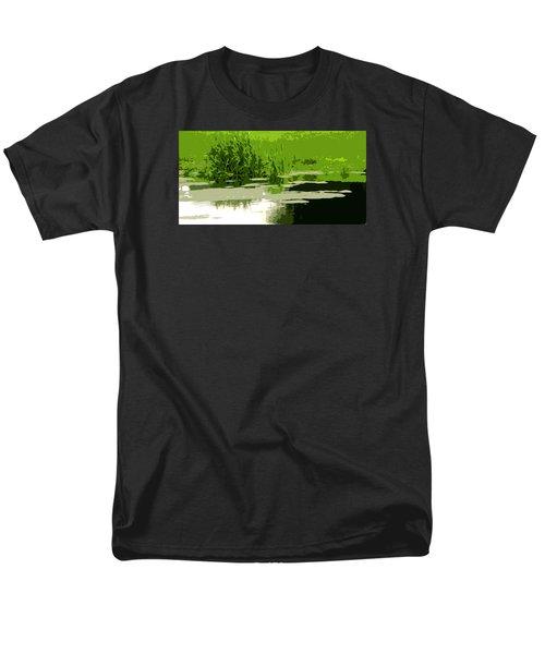 Reeds At The  Pond Men's T-Shirt  (Regular Fit) by Spyder Webb