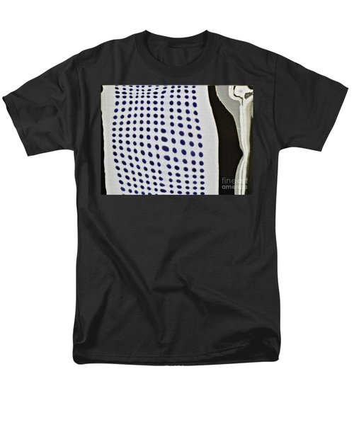 Men's T-Shirt  (Regular Fit) featuring the photograph Reflection On 42nd Street 1 Negative by Sarah Loft