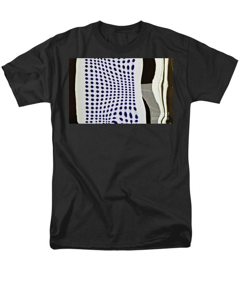 Men's T-Shirt  (Regular Fit) featuring the photograph Reflection On 42nd Street 2 Negative by Sarah Loft