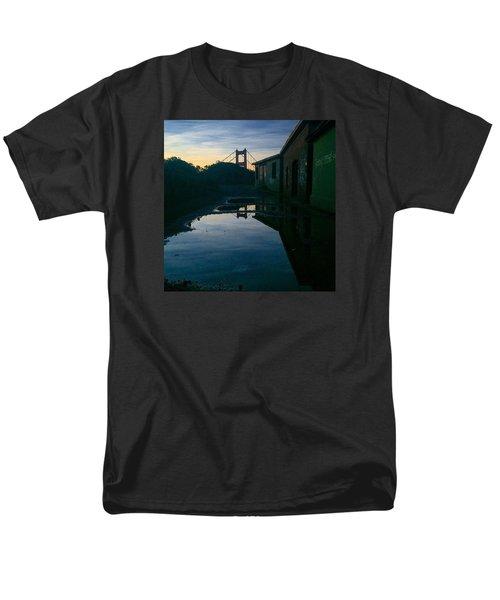 Reflecting On Past Wars Men's T-Shirt  (Regular Fit) by Eugene Evon