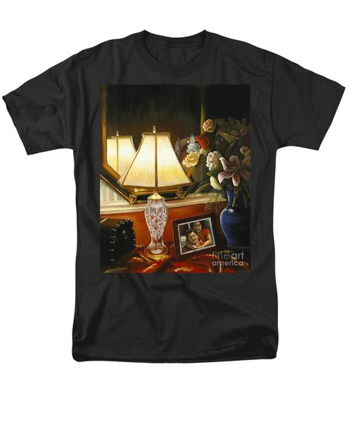 Men's T-Shirt  (Regular Fit) featuring the painting Reflections by Marlene Book