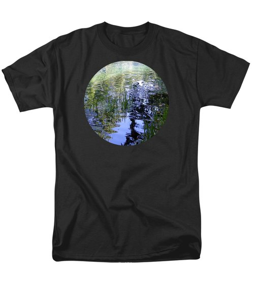 Men's T-Shirt  (Regular Fit) featuring the photograph Reflections  by Mary Wolf