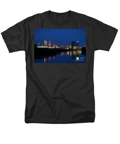Men's T-Shirt  (Regular Fit) featuring the photograph Reflections Of Indy - D009911 by Daniel Dempster
