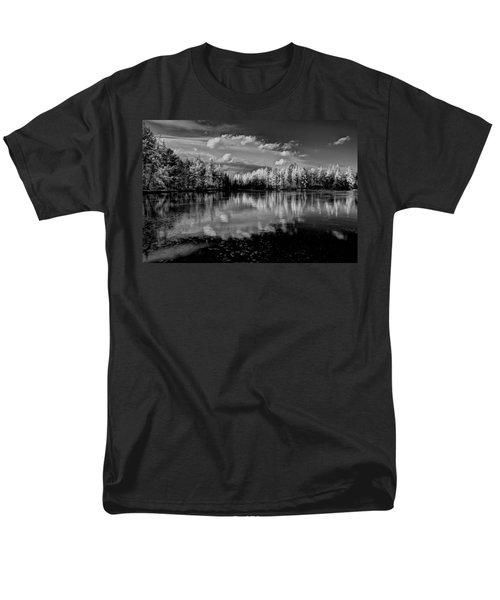 Reflections Of Tamaracks Men's T-Shirt  (Regular Fit) by David Patterson