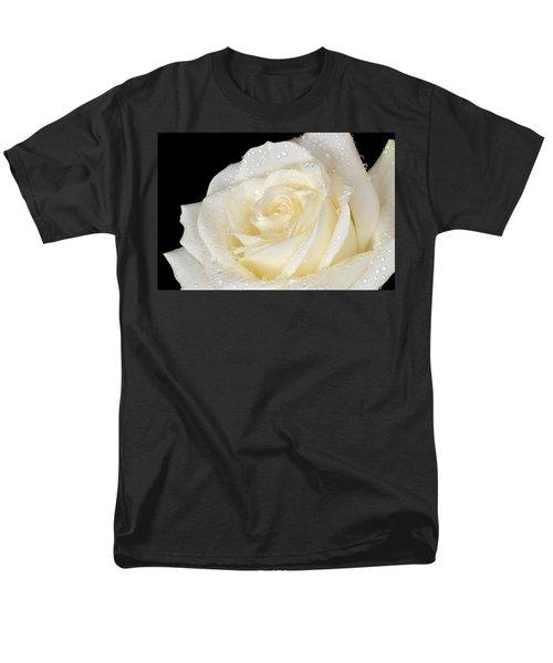 Refreshing Ivory Rose Men's T-Shirt  (Regular Fit) by Terence Davis