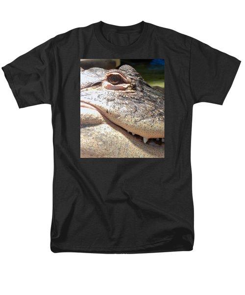 Reptilian Smile Men's T-Shirt  (Regular Fit) by KD Johnson