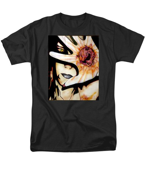 Men's T-Shirt  (Regular Fit) featuring the painting Resistance by Tbone Oliver