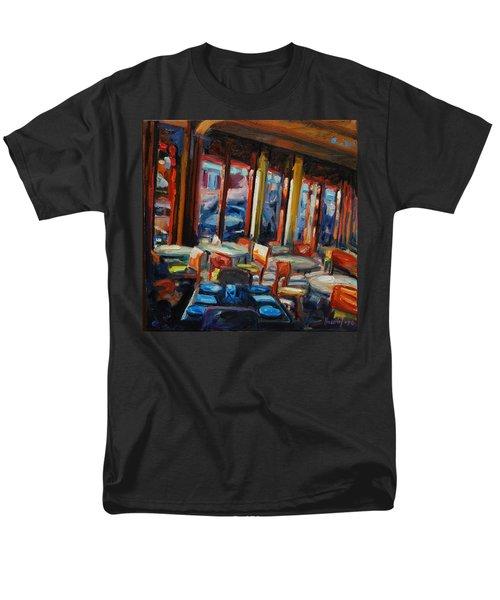 Restaurant On Columbus Men's T-Shirt  (Regular Fit) by Rick Nederlof