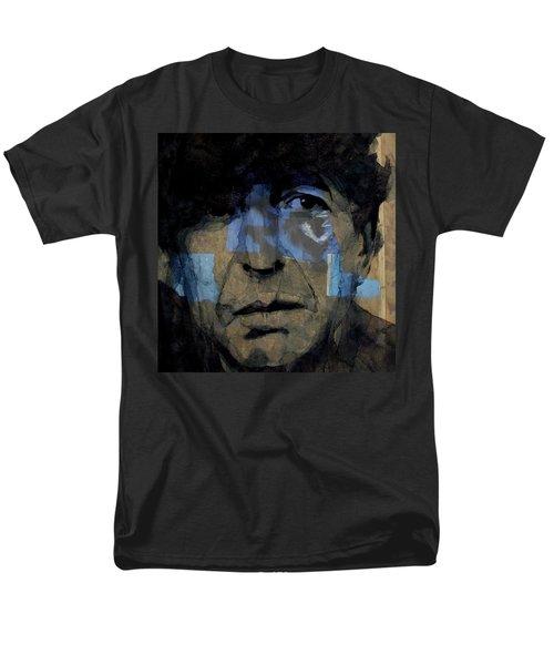 Retro- Famous Blue Raincoat  Men's T-Shirt  (Regular Fit) by Paul Lovering