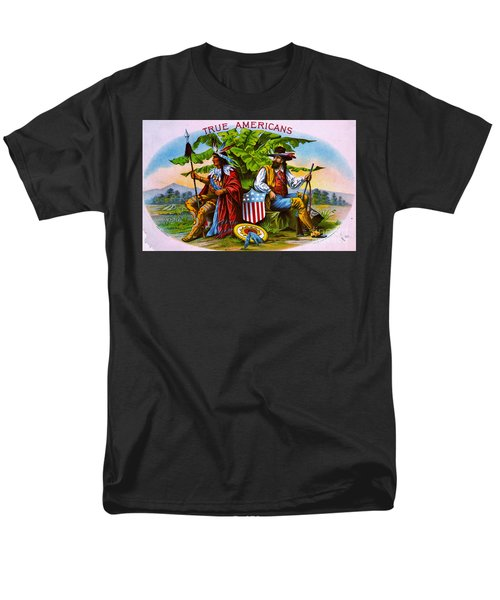 Men's T-Shirt  (Regular Fit) featuring the photograph Retro Tobacco 1885 by Padre Art