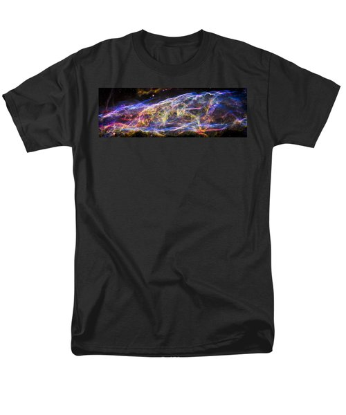 Men's T-Shirt  (Regular Fit) featuring the photograph Revisiting The Veil Nebula by Adam Romanowicz