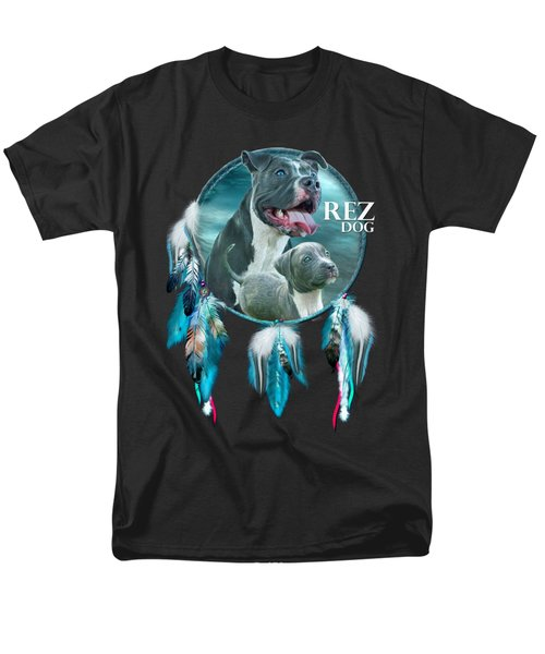 Rez Dog Cover Art Men's T-Shirt  (Regular Fit) by Carol Cavalaris