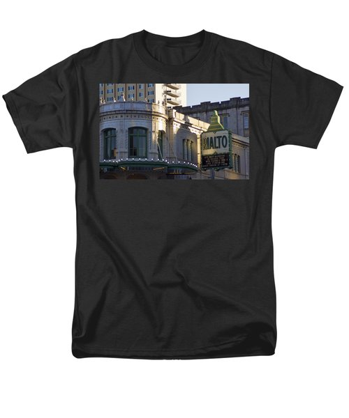 Rialto Tacoma Men's T-Shirt  (Regular Fit) by Cathy Anderson
