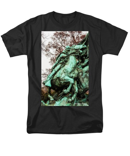 Men's T-Shirt  (Regular Fit) featuring the photograph Riding Tight by Christopher Holmes