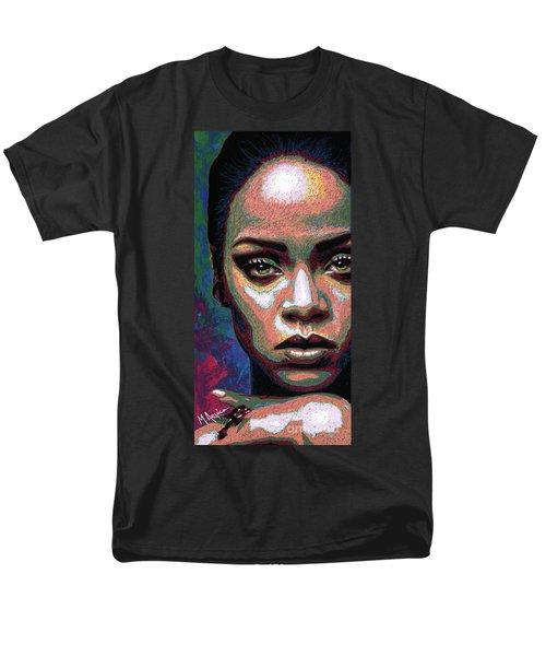 Rihanna Men's T-Shirt  (Regular Fit) by Maria Arango