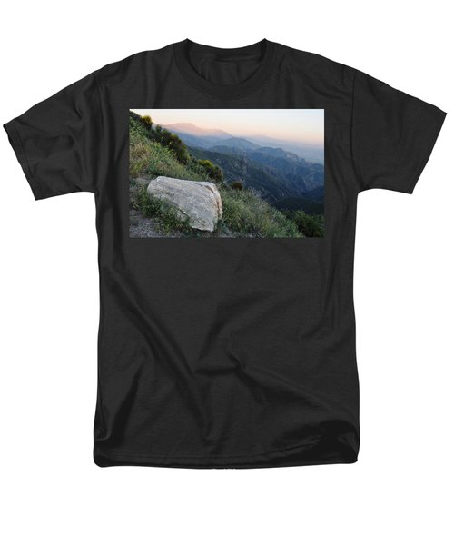 Men's T-Shirt  (Regular Fit) featuring the photograph Rim O' The World National Scenic Byway by Kyle Hanson
