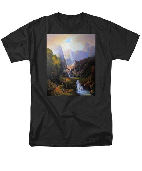 Rivendell. The Last Homely House.  Men's T-Shirt  (Regular Fit) by Joe Gilronan