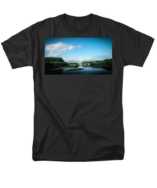 Men's T-Shirt  (Regular Fit) featuring the photograph River Islands by Marvin Spates