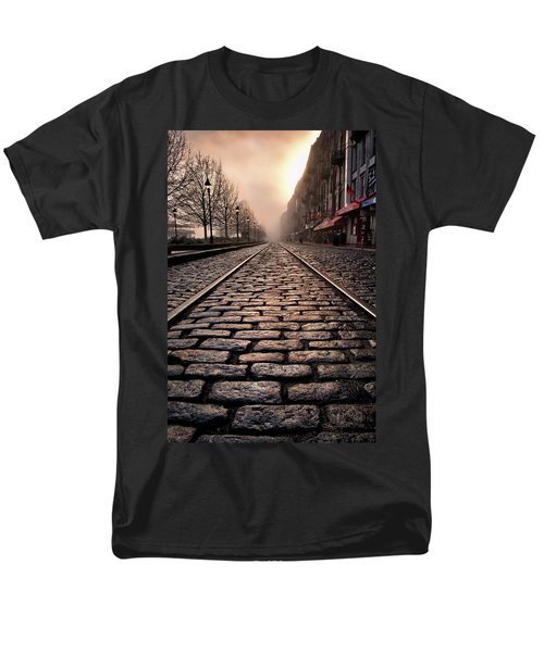 River Street Railway Men's T-Shirt  (Regular Fit)