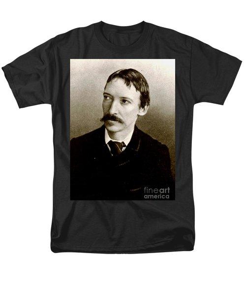 Men's T-Shirt  (Regular Fit) featuring the photograph Robert Louis Stevenson by Pg Reproductions